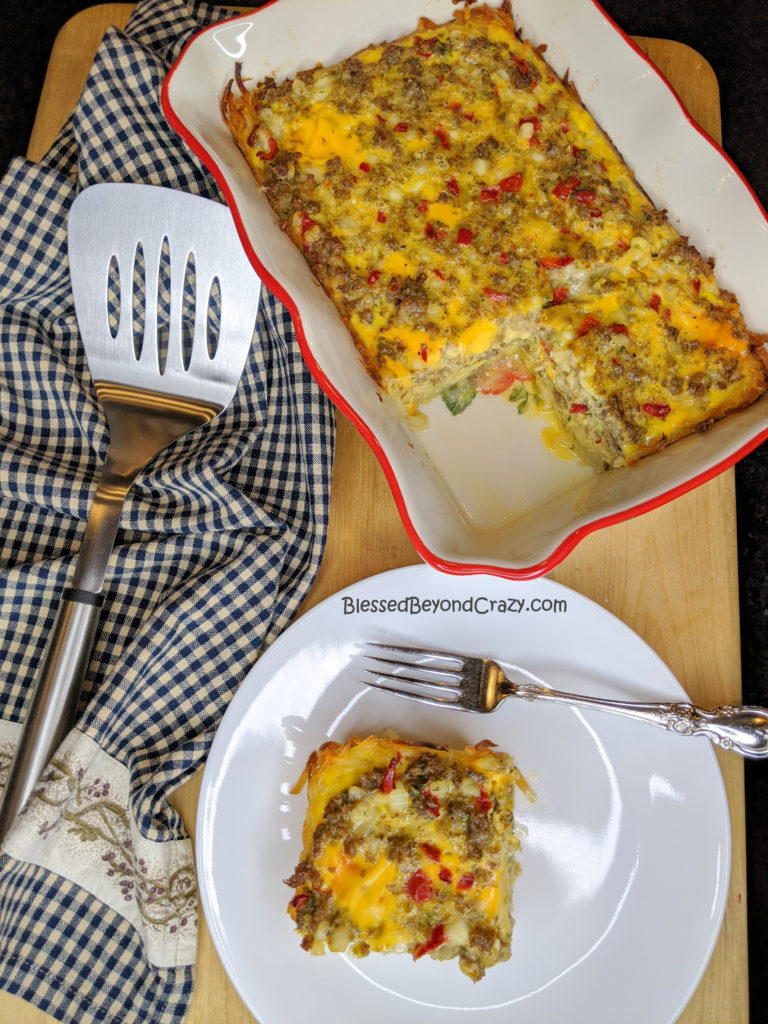 Serving up Simple Gluten-Free Breakfast Casserole