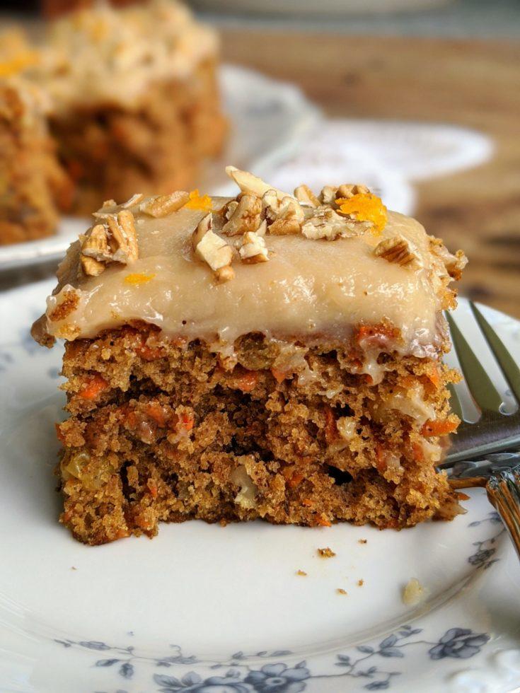 Kid-Friendly Carrot Cake Bars (Gluten-Free Option)