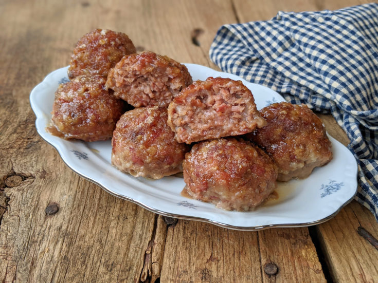 Easy Freezer-Friendly Ham Balls (Gluten-Free Option)