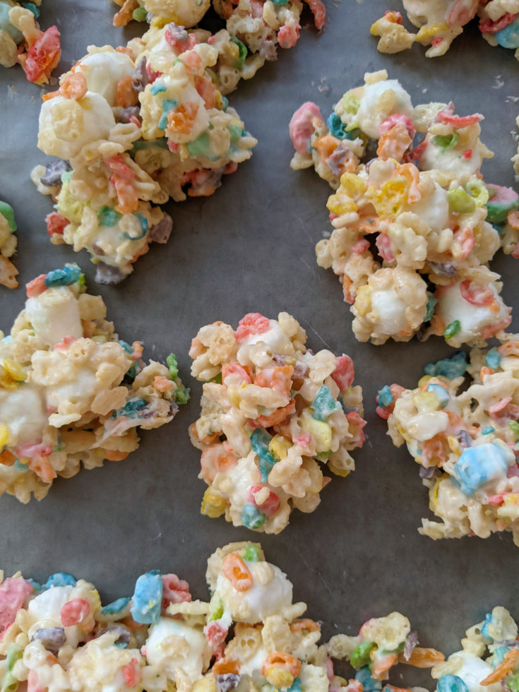 Almond Bark Cereal Candy Clusters with Gluten-Free Option