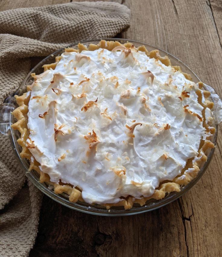 Coconut Cream Pie (Gluten-Free Option)