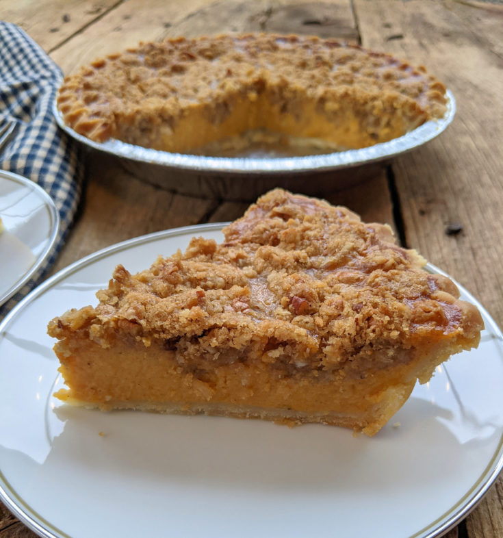 Sweet Potato Pie (Gluten-Free Option)