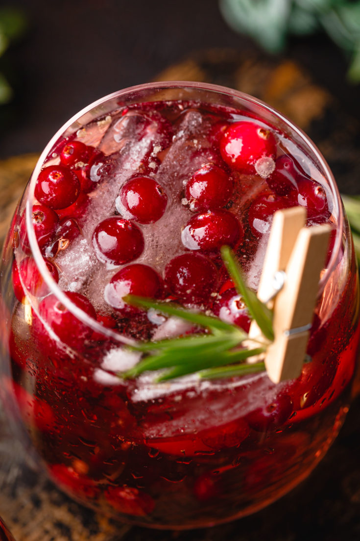 Cranberry Pomegranate Party Punch