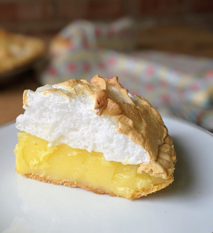 Easy Lemon Meringue Pie (Gluten-Free Option)