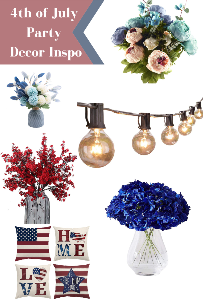 4th of July Party Decor Inspo