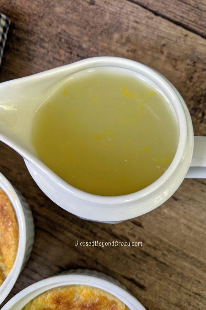Homemade Lemon Sauce