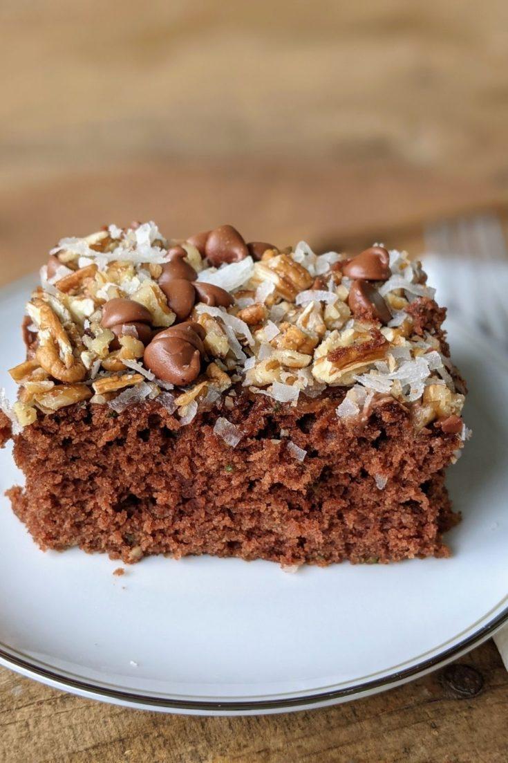 Chocolate Zucchini Brownies (Gluten-Free Option)